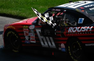 during the NASCAR XFINITY Series Buckle Up 200 presented by Click It or Ticket at Dover International Speedway on May 30, 2015 in Dover, Delaware.