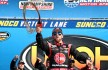 LOUDON, NH - SEPTEMBER 26:  Austin Dillon, driver of the #33 Rheem Chevrolet, celebrates in Victory Lane after winning the NASCAR Camping World Truck Series UNOH 175 at New Hampshire Motor Speedway on September 26, 2015 in Loudon, New Hampshire.  (Photo by Sean Gardner/Getty Images)