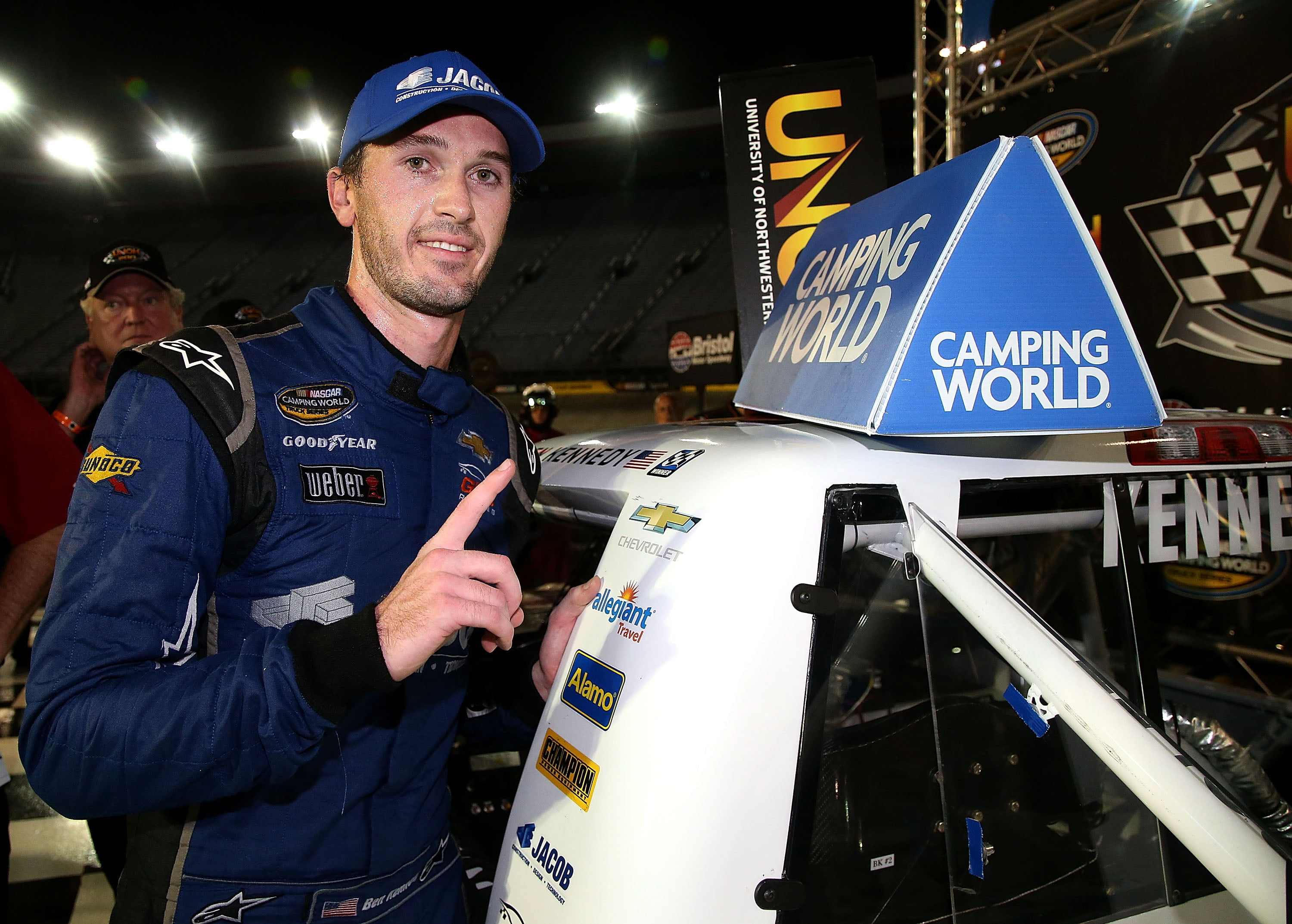 Late-race pass propels Ben Kennedy to first career NASCAR Camping World Truck Series win