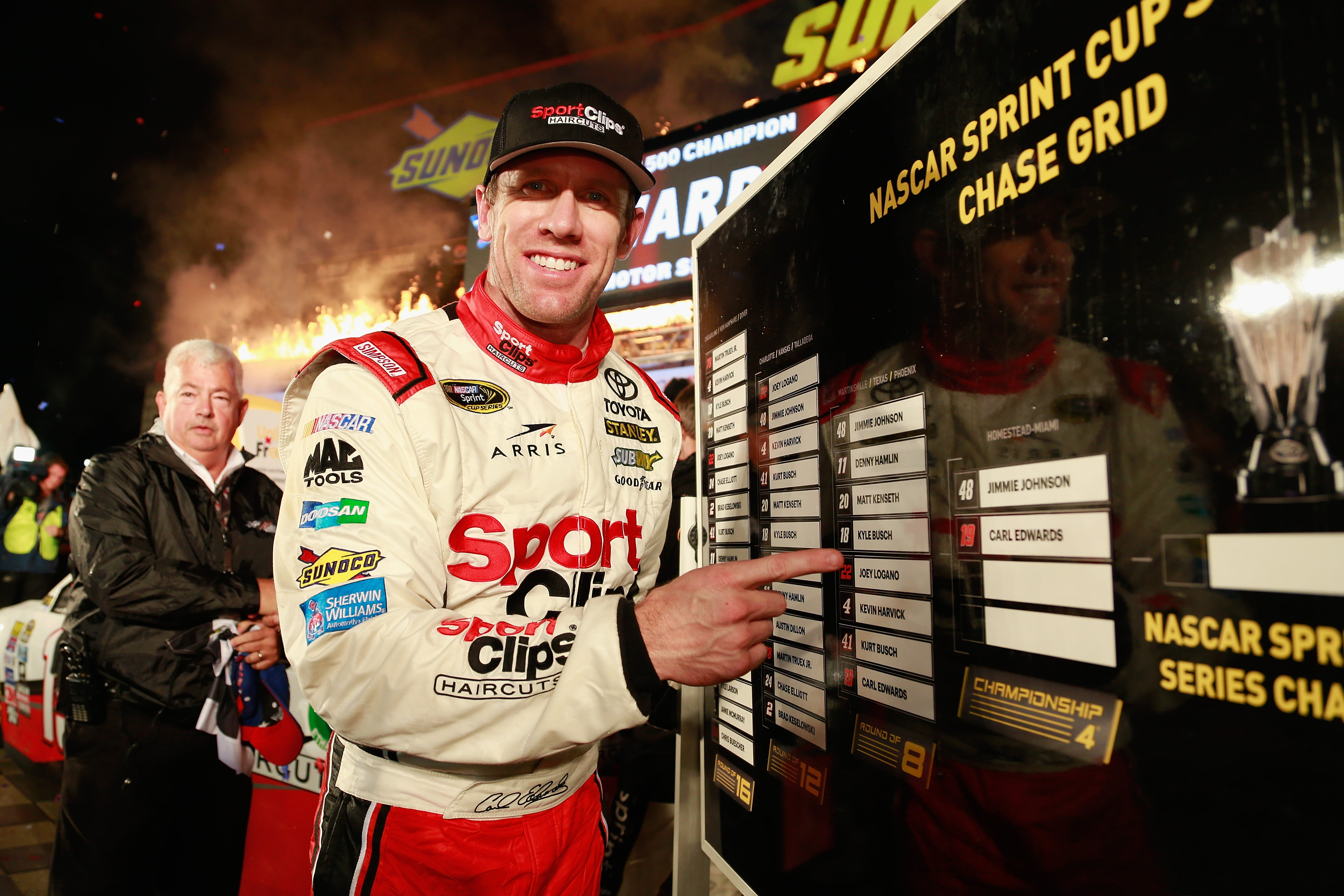 Carl Edwards Shocks NASCAR World with Retirement