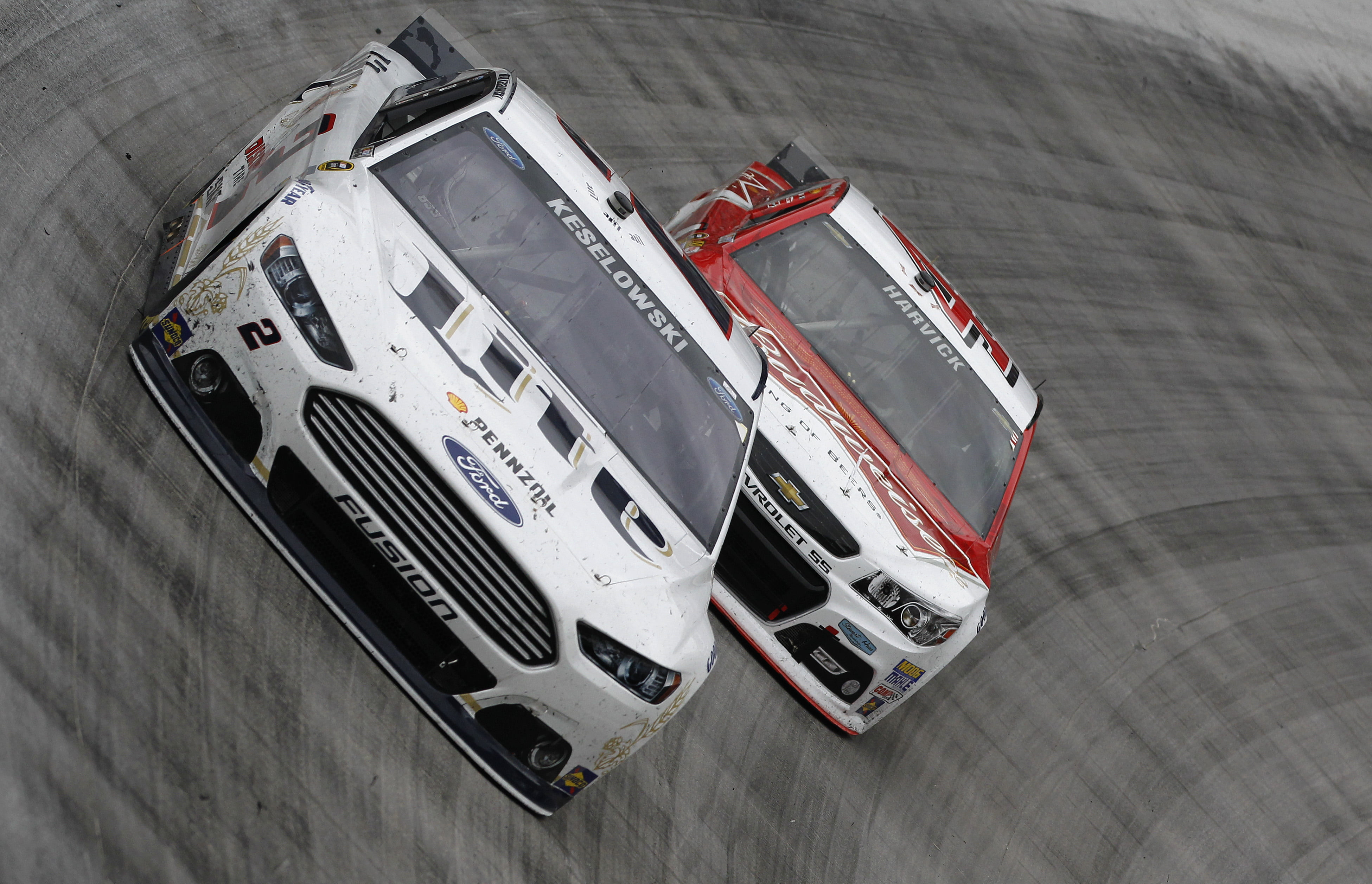 Ford Makes a Strong Showing at Bristol