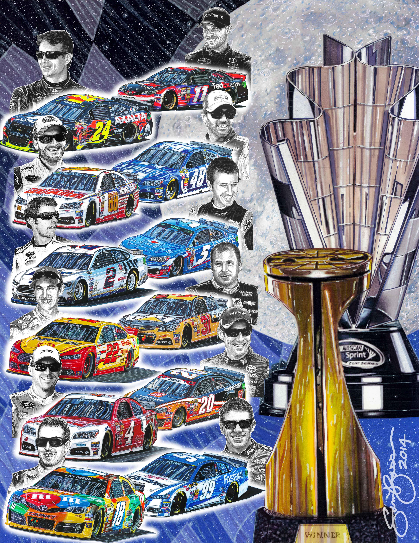 SAM BASS – NASCAR'S 1st OFFICIALLY LICENSED ARTIST