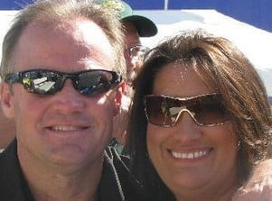Kenny and Kim Wallace – 30 years of Wedded Bliss…