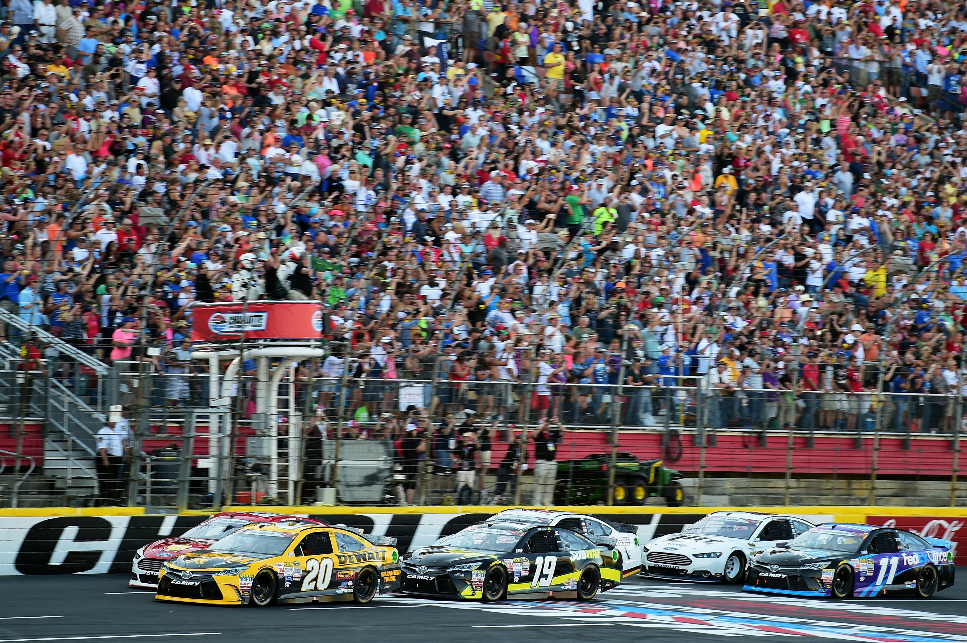 Three NASCAR Sprint Cup Series Teams Receive Penalties From Event At Charlotte Motor Speedway