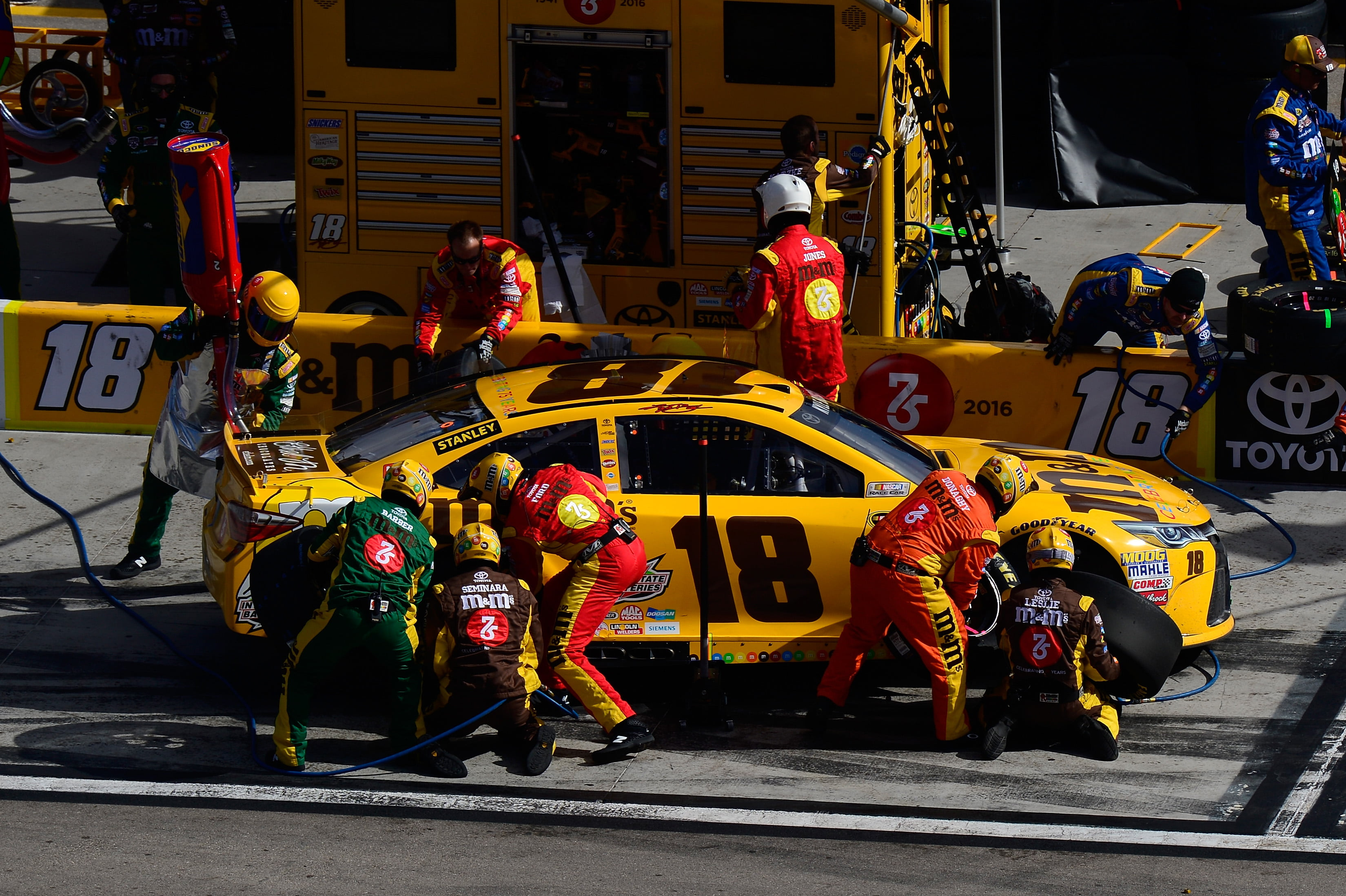 Joe Gibbs Racing Announces Changes to Pit Crew Management