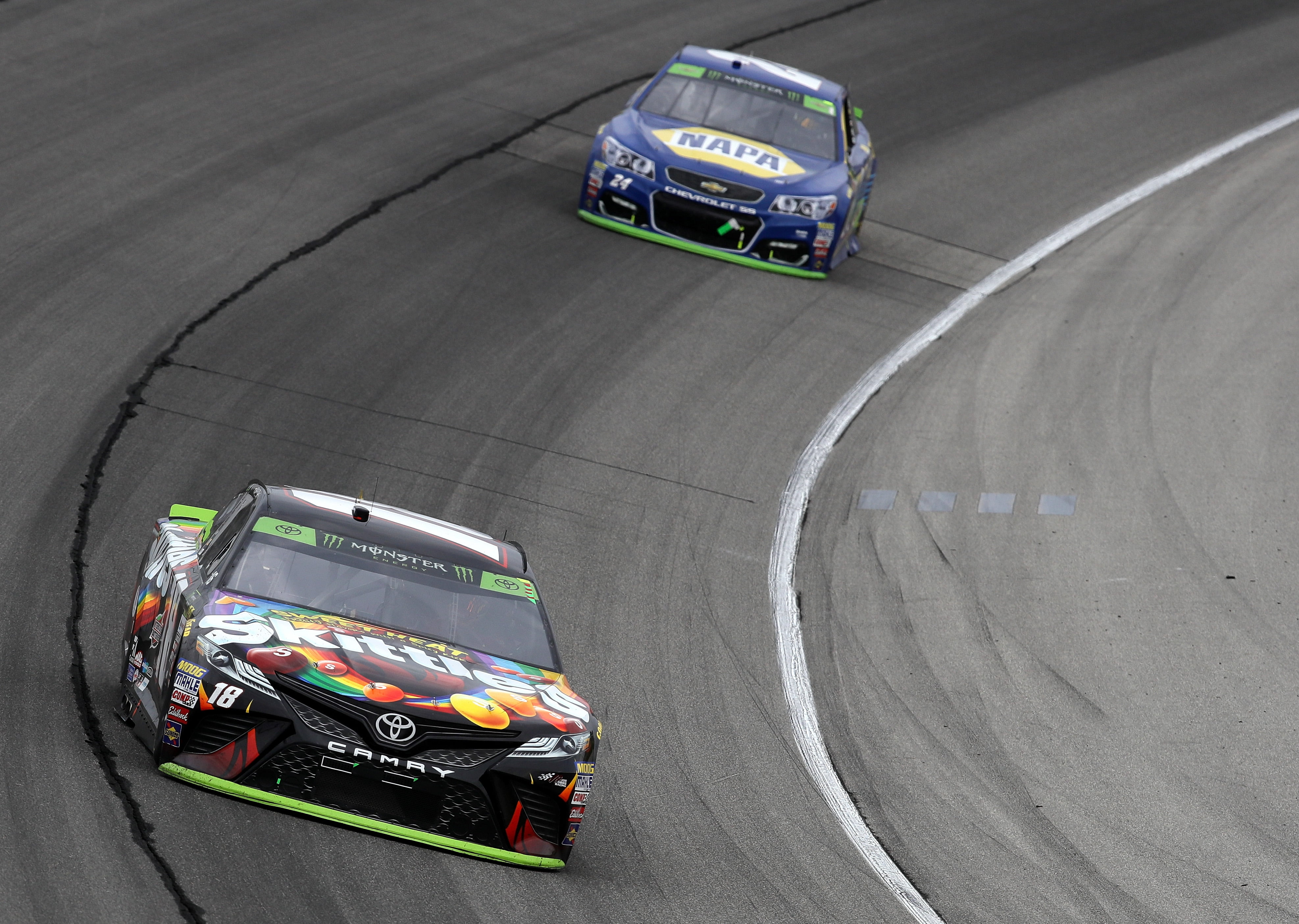 Kyle Busch's Grueling Day at Charlotte
