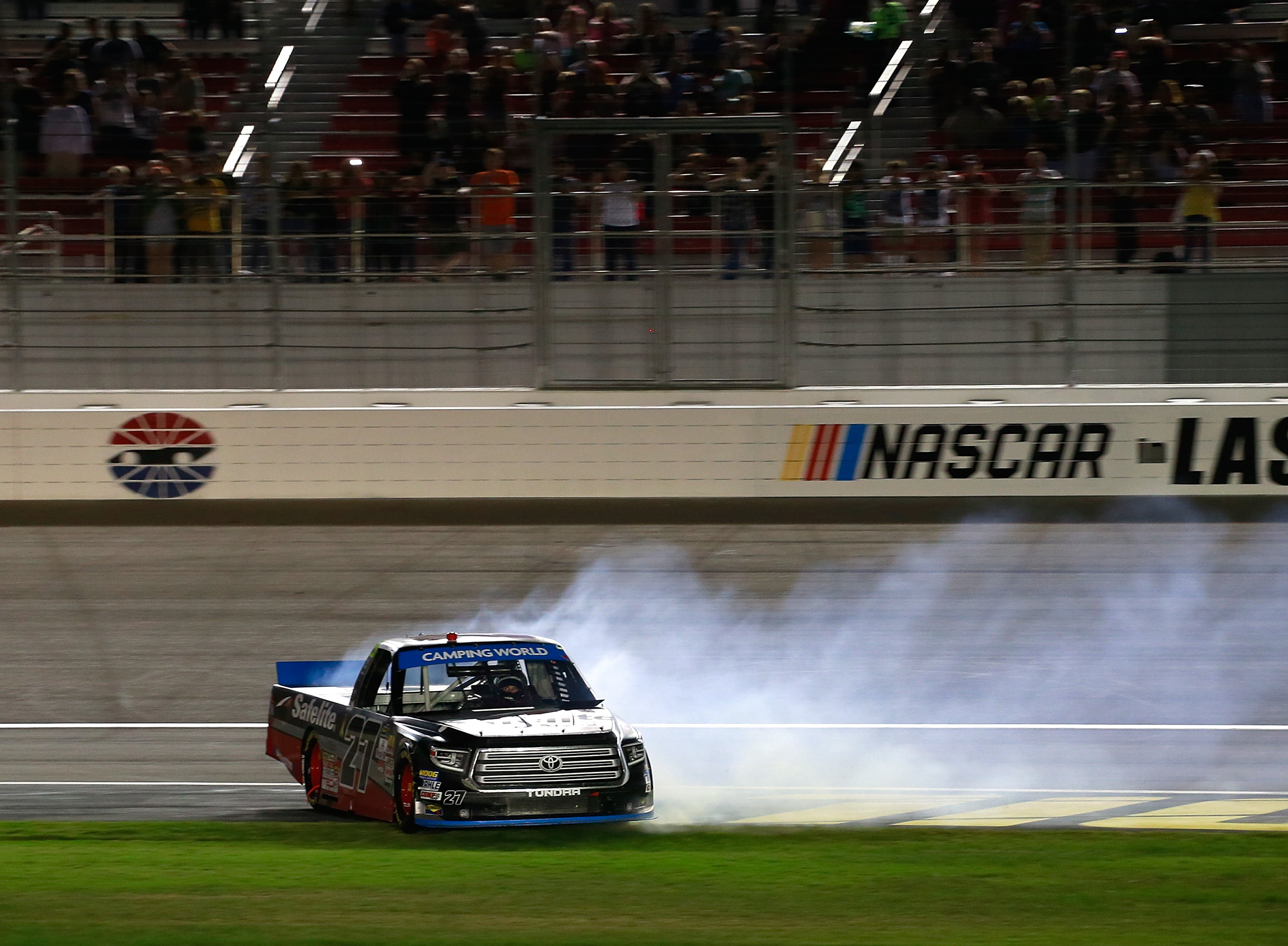 Bell, Rhodes Separate Themselves As Truck Series Playoffs Heat Up
