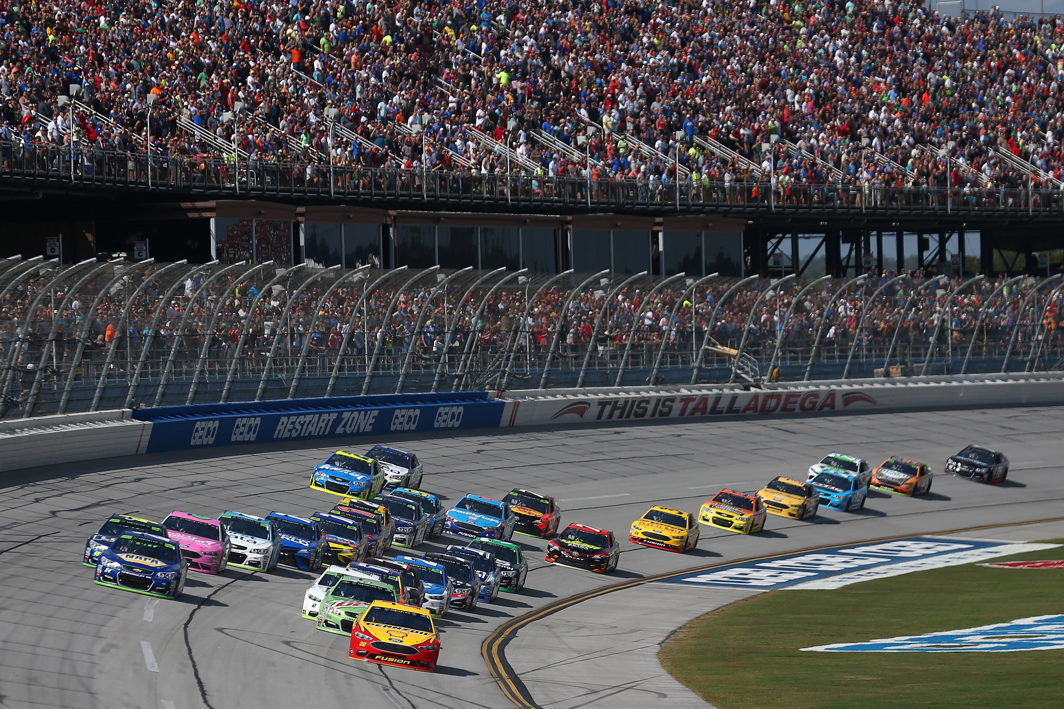 Talladega Wreckfest Shakes Up Playoffs