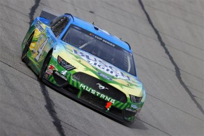 Harvick Continues Hot Streak in Atlanta