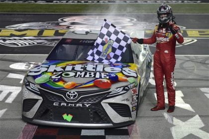 Kyle Busch Finally Wins in Long Delayed Texas Race
