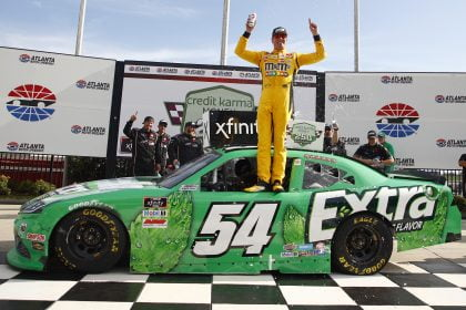 Kyle Busch Gets Xfinity Win 102 in His Potential Swan Song